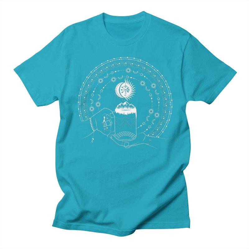 My Bohemian World from my15bohemianart Collection Men's Regular T-Shirt by Famenxt