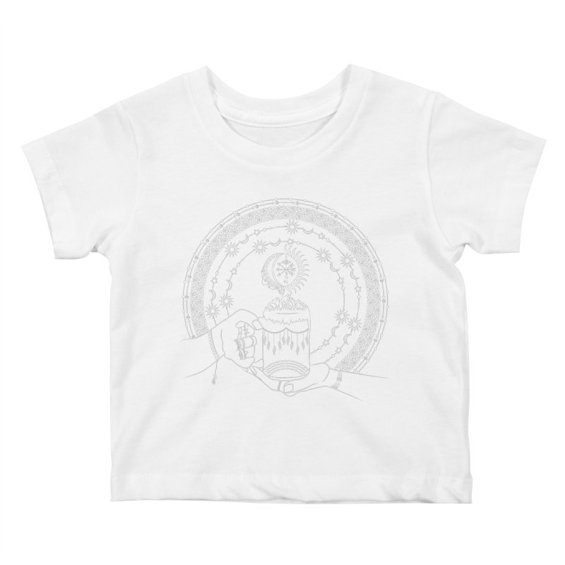 My Bohemian World from my15bohemianart Collection Kids Baby T-Shirt by Famenxt