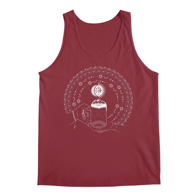 My Bohemian World from my15bohemianart Collection Men's Tank by Famenxt
