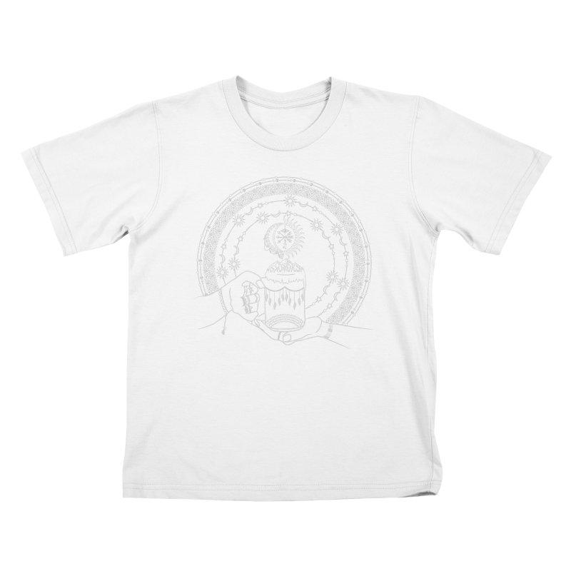 My Bohemian World from my15bohemianart Collection Kids T-Shirt by Famenxt