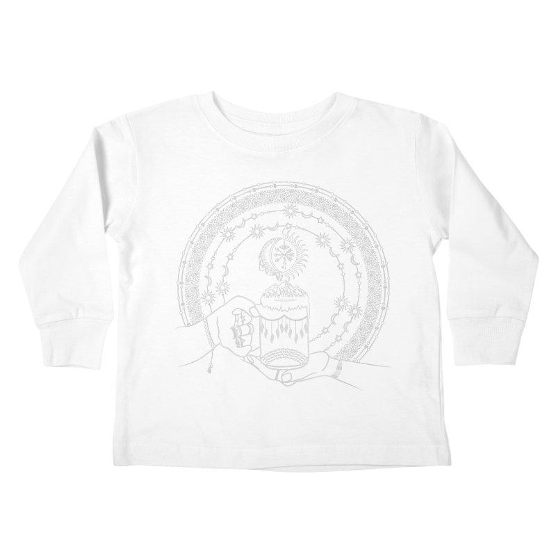 My Bohemian World from my15bohemianart Collection Kids Toddler Longsleeve T-Shirt by Famenxt
