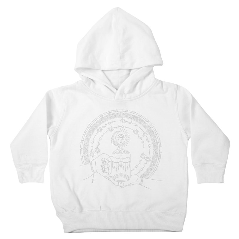 My Bohemian World from my15bohemianart Collection Kids Toddler Pullover Hoody by Famenxt