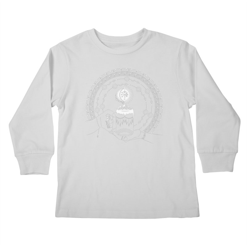 My Bohemian World from my15bohemianart Collection Kids Longsleeve T-Shirt by Famenxt