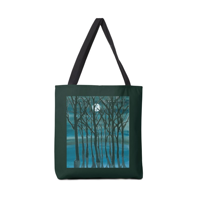 Forest Moon Accessories Bag by Family Tree Artist Shop