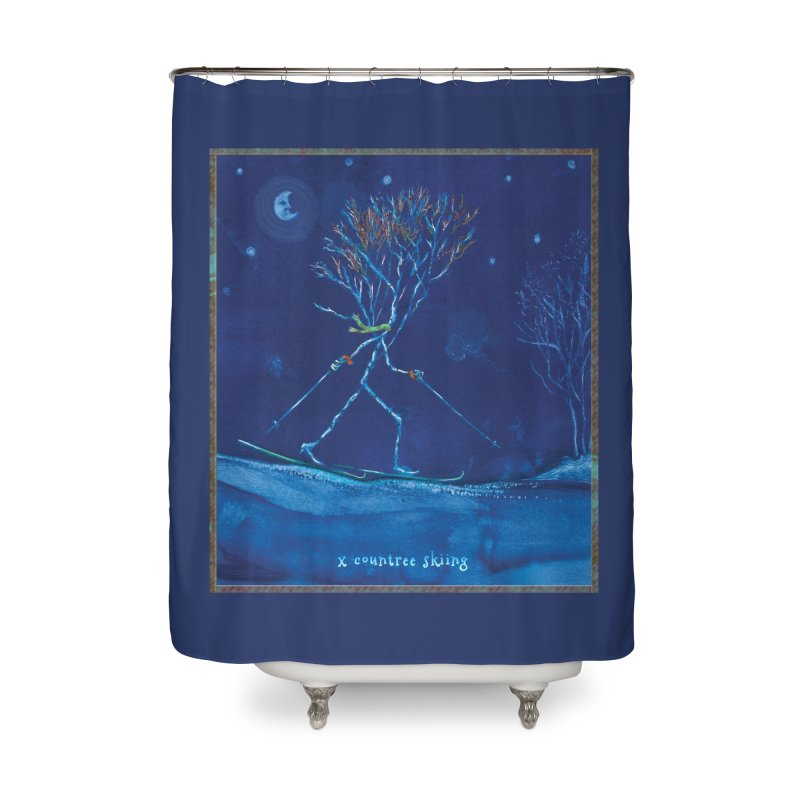 x countree Home Shower Curtain by Family Tree Artist Shop