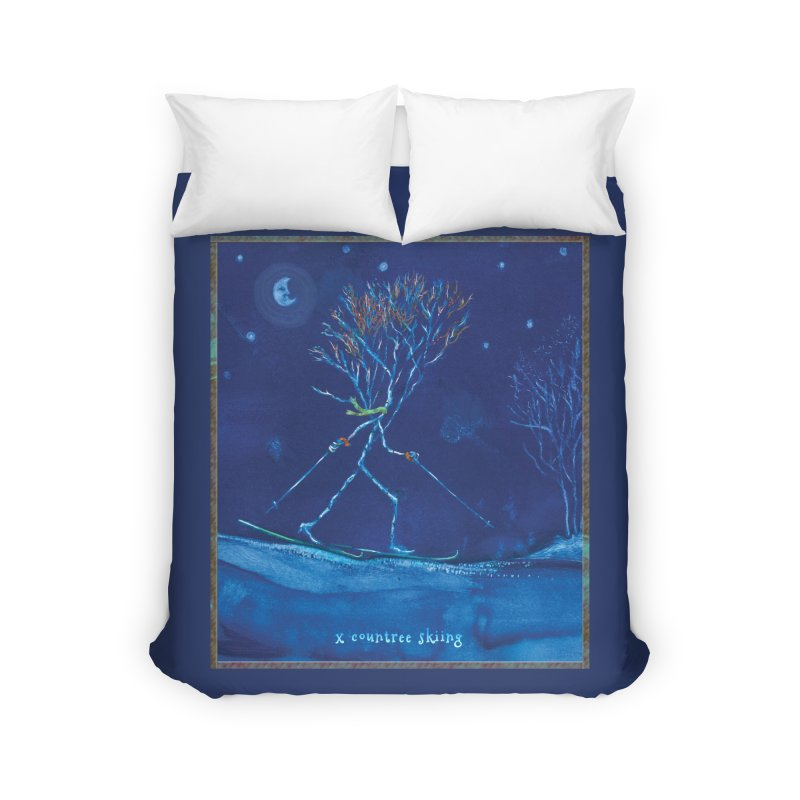 x countree Home Duvet by Family Tree Artist Shop