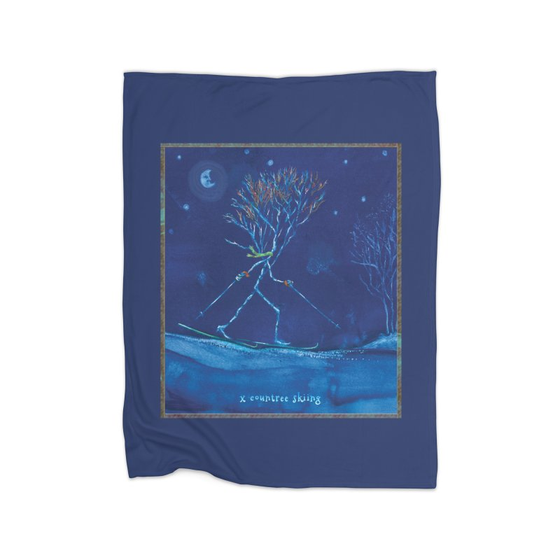 x countree Home Blanket by Family Tree Artist Shop