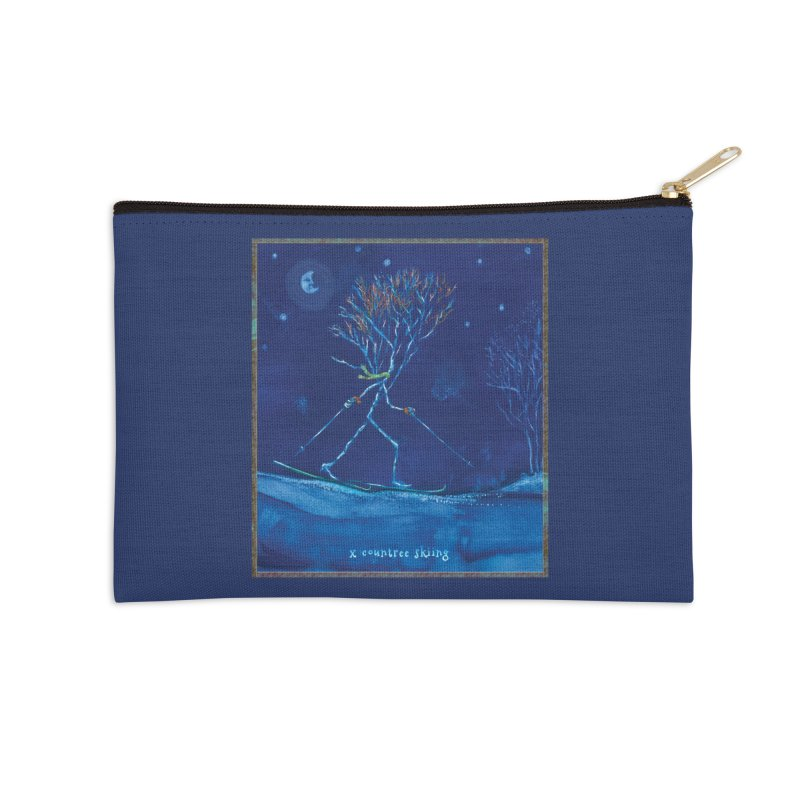 x countree Accessories Zip Pouch by Family Tree Artist Shop