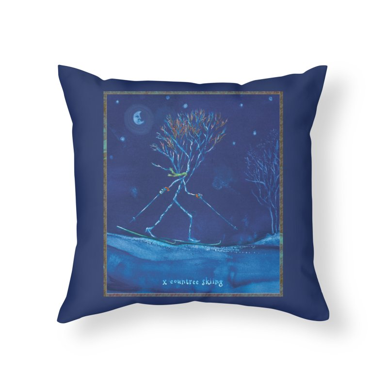 x countree Home Throw Pillow by Family Tree Artist Shop