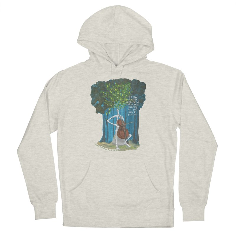 cello practice Men's Pullover Hoody by Family Tree Artist Shop