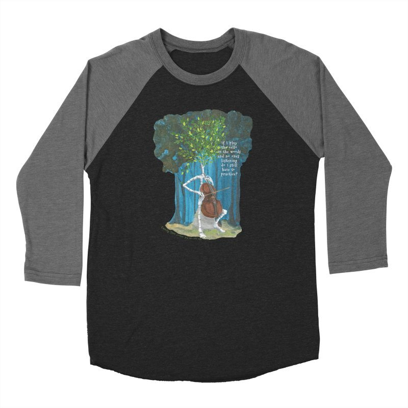 cello practice Women's Longsleeve T-Shirt by Family Tree Artist Shop