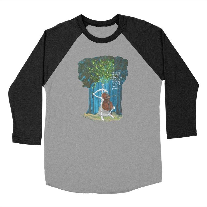 cello practice Women's Longsleeve T-Shirt by Family Tree Artist Shop