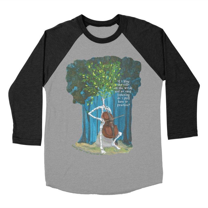 cello practice Men's Baseball Triblend Longsleeve T-Shirt by Family Tree Artist Shop
