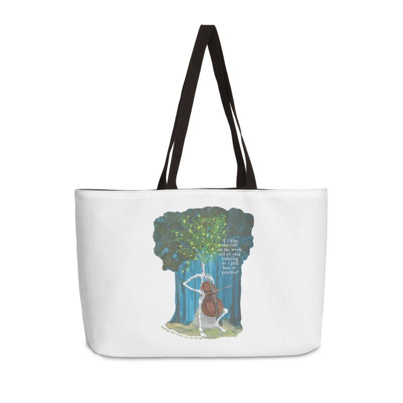 cello practice Accessories Bag by Family Tree Artist Shop