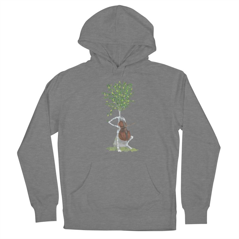 cello Women's Pullover Hoody by Family Tree Artist Shop