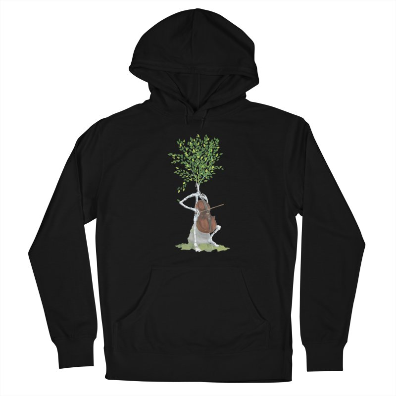 cello Men's Pullover Hoody by Family Tree Artist Shop