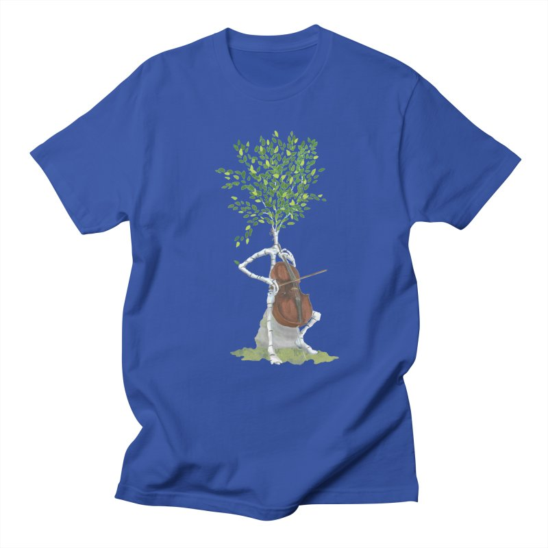 cello Men's T-Shirt by Family Tree Artist Shop