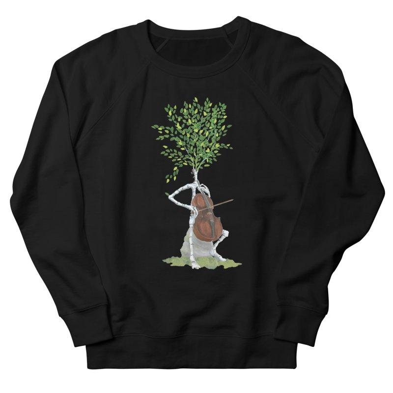 cello Men's Sweatshirt by Family Tree Artist Shop