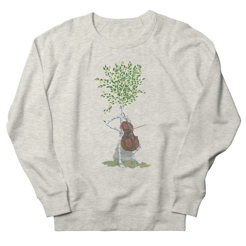 cello Men's Sweatshirt by Family Tree Artist Shop