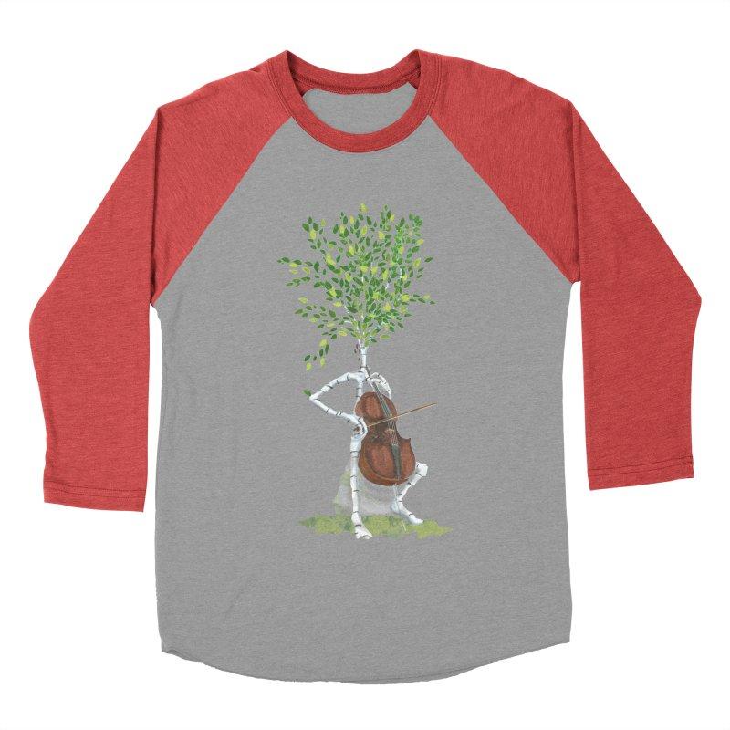cello Men's Baseball Triblend Longsleeve T-Shirt by Family Tree Artist Shop