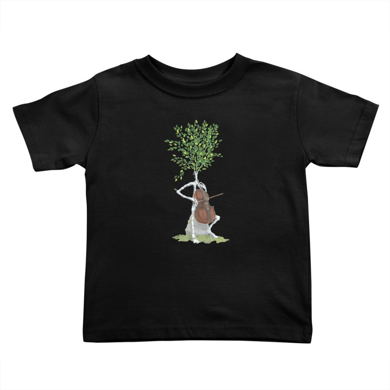 cello Kids Toddler T-Shirt by Family Tree Artist Shop