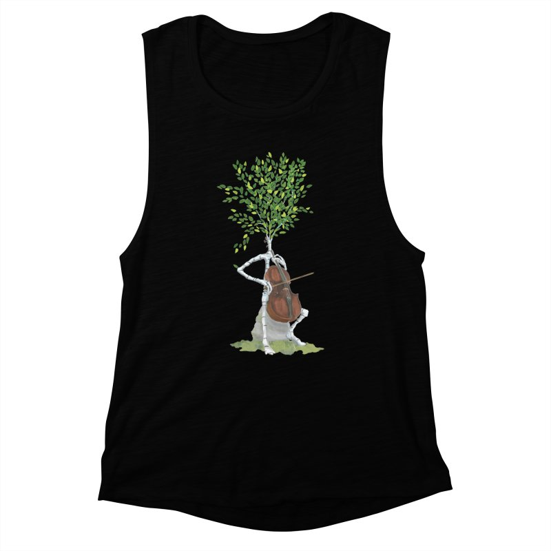 cello Women's Tank by Family Tree Artist Shop