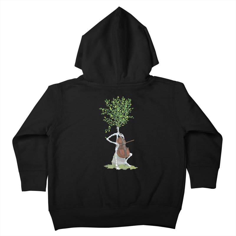 cello Kids Toddler Zip-Up Hoody by Family Tree Artist Shop