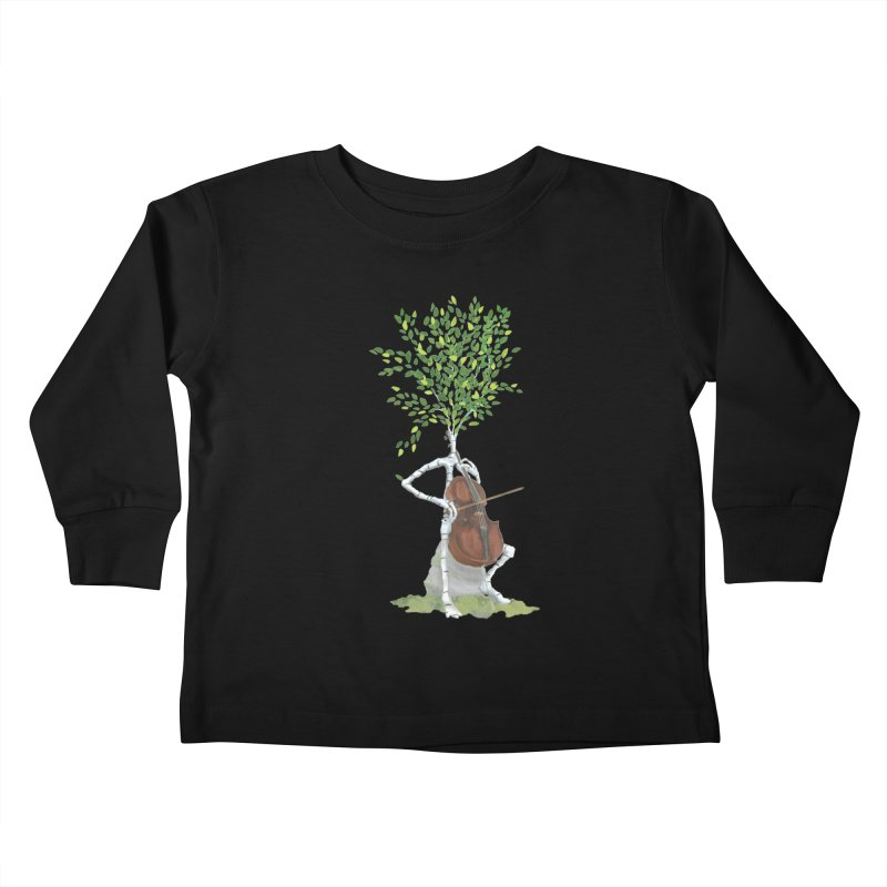 cello Kids Toddler Longsleeve T-Shirt by Family Tree Artist Shop
