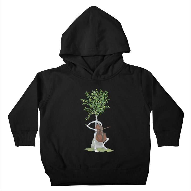 cello Kids Toddler Pullover Hoody by Family Tree Artist Shop