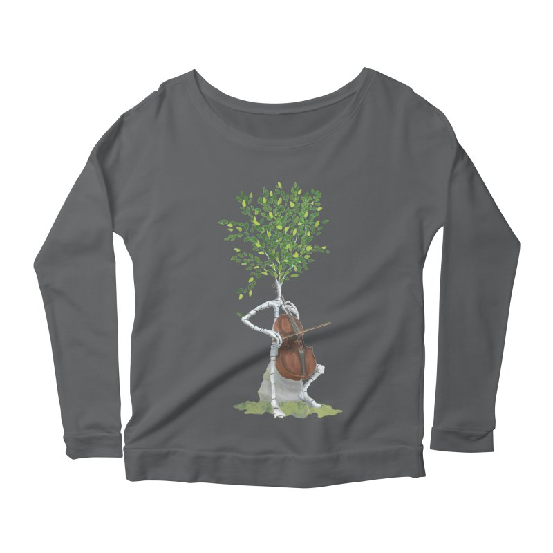 cello Women's Longsleeve T-Shirt by Family Tree Artist Shop
