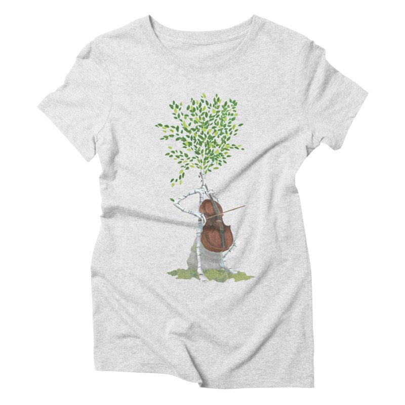 cello Women's T-Shirt by Family Tree Artist Shop
