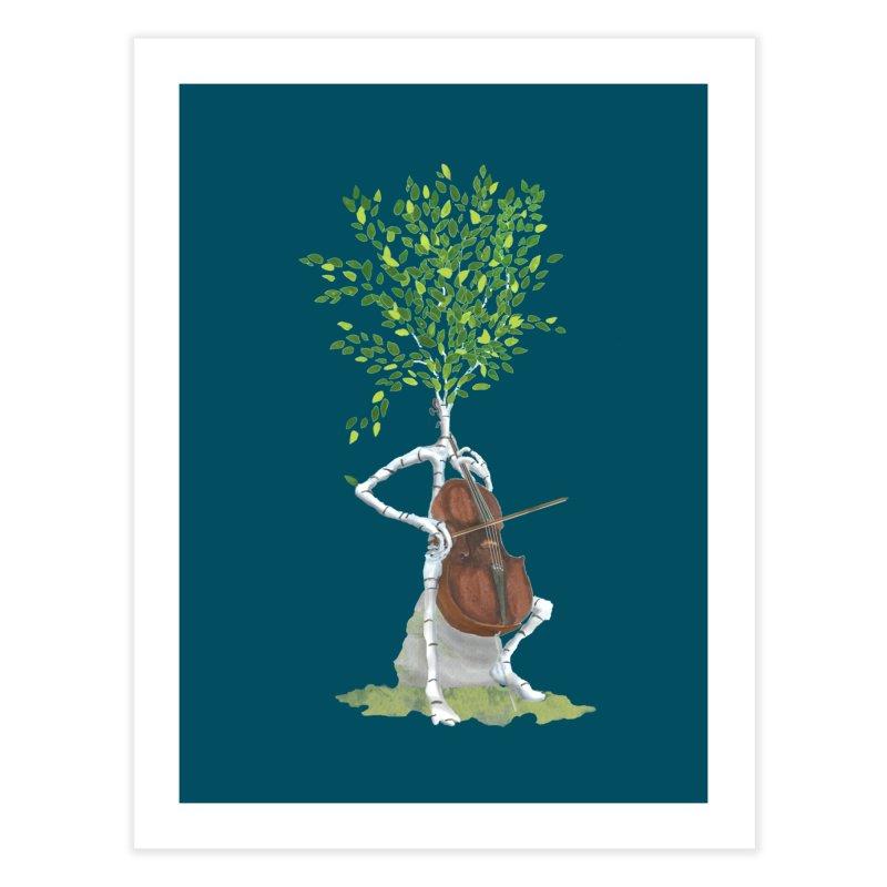 cello Home Fine Art Print by Family Tree Artist Shop