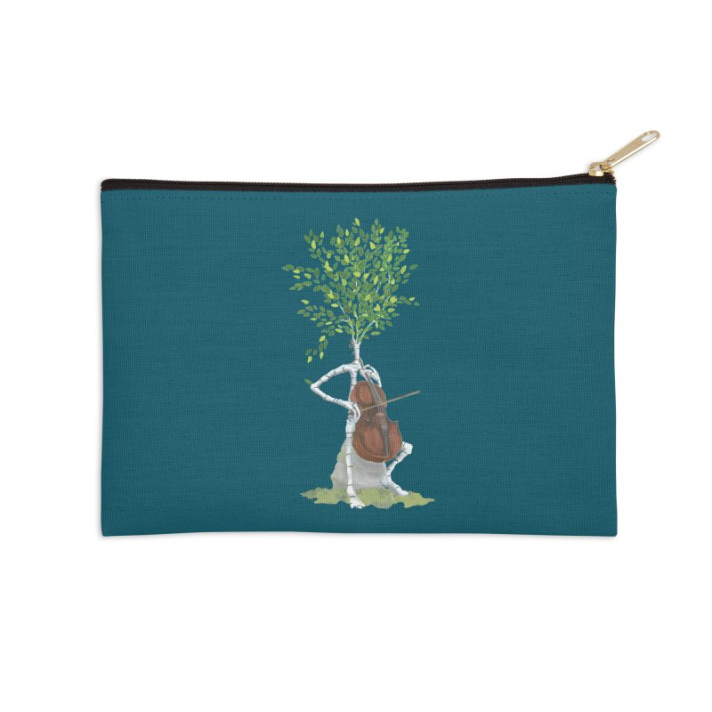 cello Accessories Zip Pouch by Family Tree Artist Shop