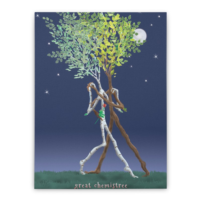 Great Chemistree Home Stretched Canvas by Family Tree Artist Shop