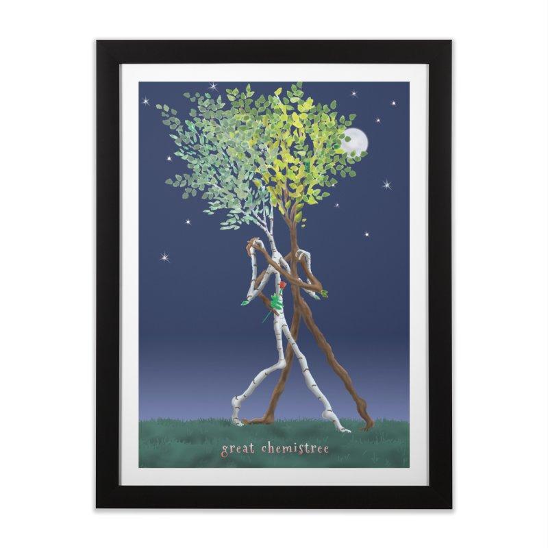 Great Chemistree Home Framed Fine Art Print by Family Tree Artist Shop
