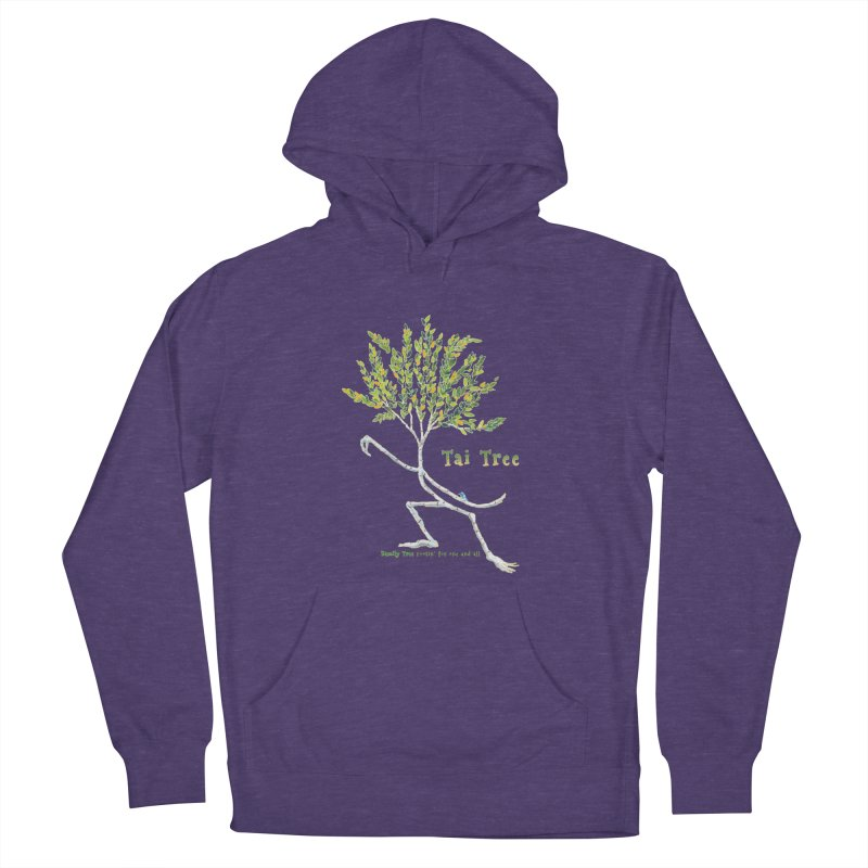 Tai Tree Men's French Terry Pullover Hoody by Family Tree Artist Shop