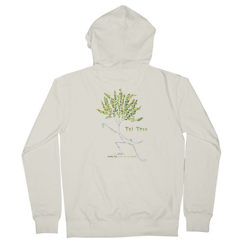 Tai Tree Women's French Terry Zip-Up Hoody by Family Tree Artist Shop