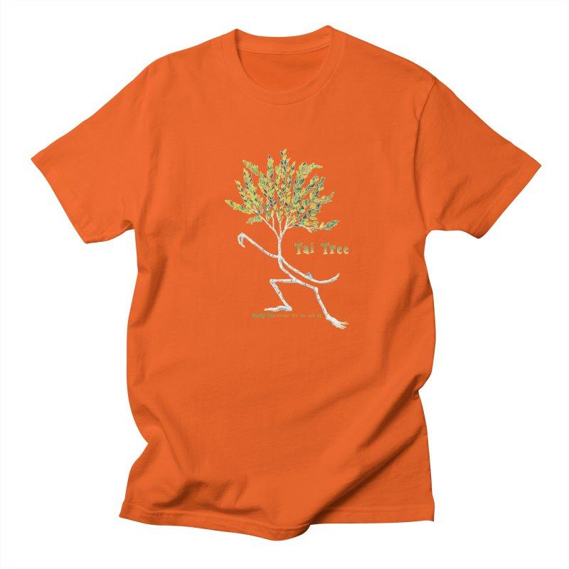 Tai Tree Men's Regular T-Shirt by Family Tree Artist Shop