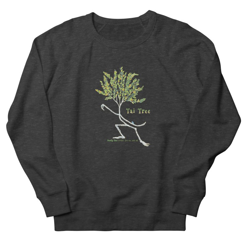 Tai Tree Women's French Terry Sweatshirt by Family Tree Artist Shop
