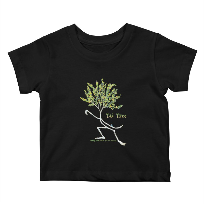 Tai Tree Kids Baby T-Shirt by Family Tree Artist Shop