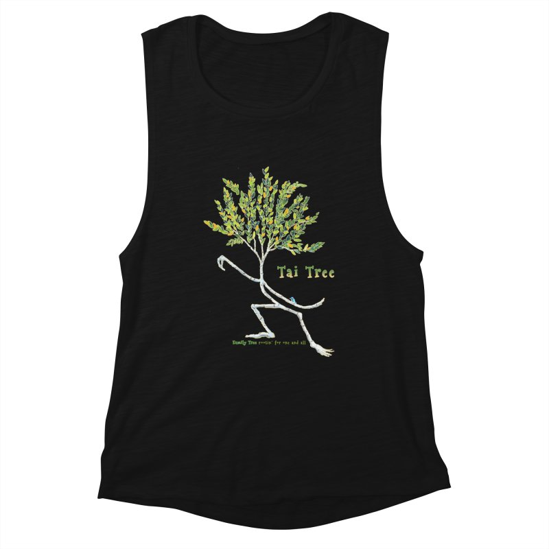 Tai Tree Women's Tank by Family Tree Artist Shop