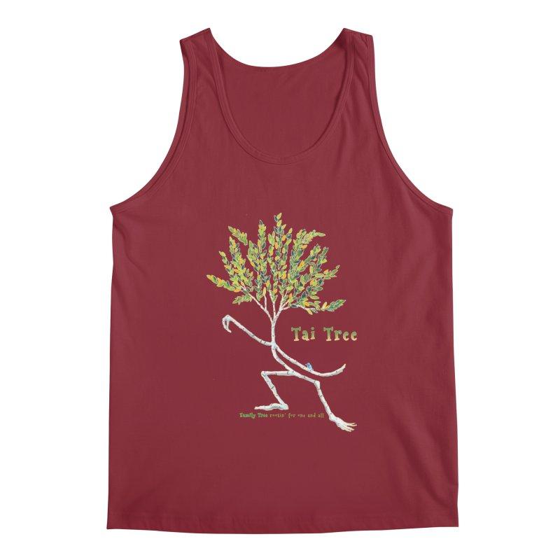 Tai Tree Men's Regular Tank by Family Tree Artist Shop