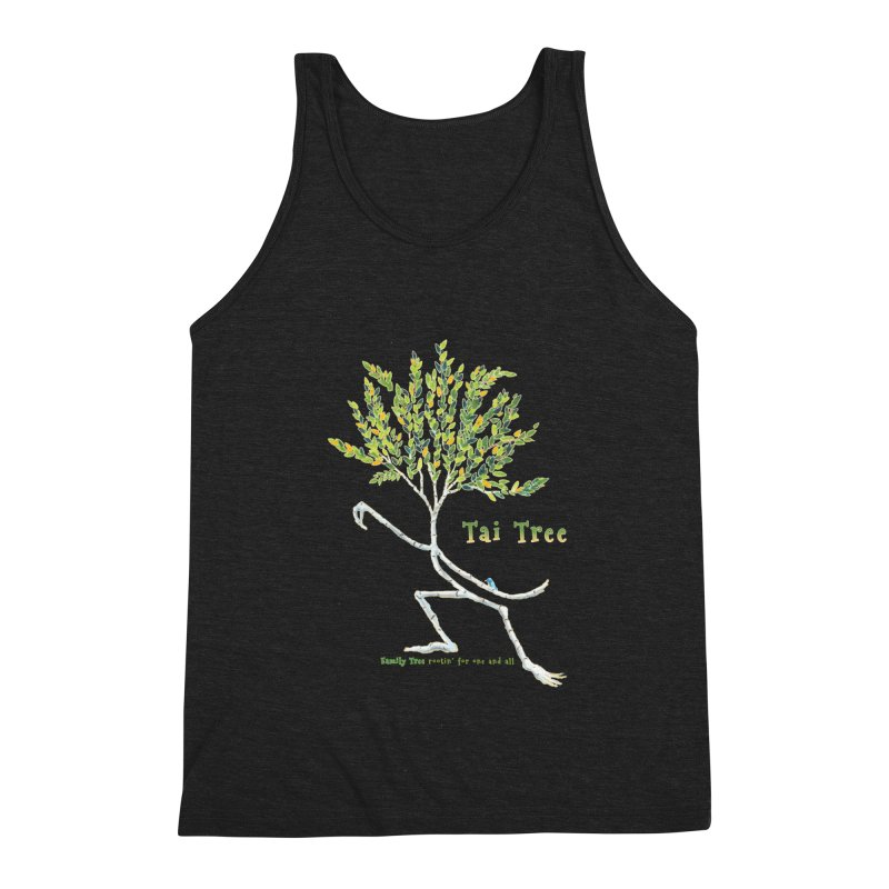 Tai Tree Men's Tank by Family Tree Artist Shop