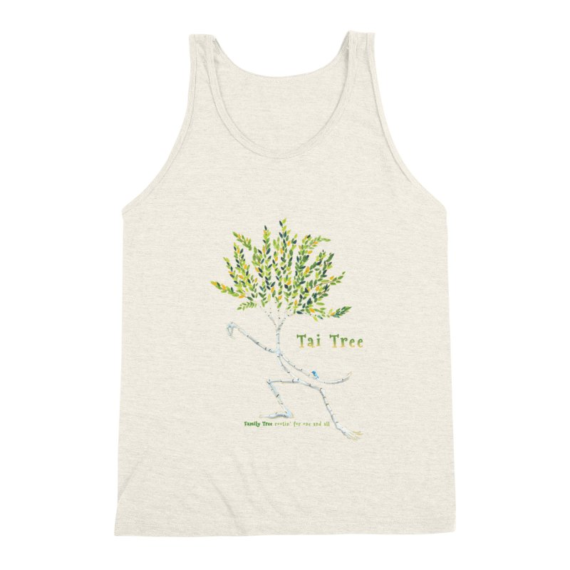 Tai Tree Men's Triblend Tank by Family Tree Artist Shop