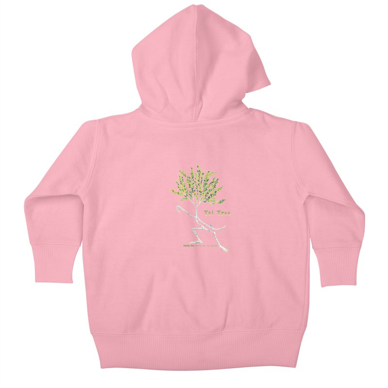 Tai Tree Kids Baby Zip-Up Hoody by Family Tree Artist Shop