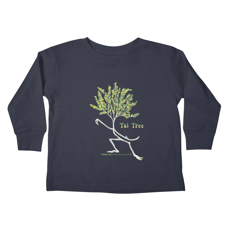 Tai Tree Kids Toddler Longsleeve T-Shirt by Family Tree Artist Shop