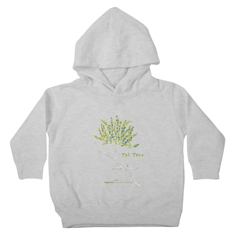 Tai Tree Kids Toddler Pullover Hoody by Family Tree Artist Shop