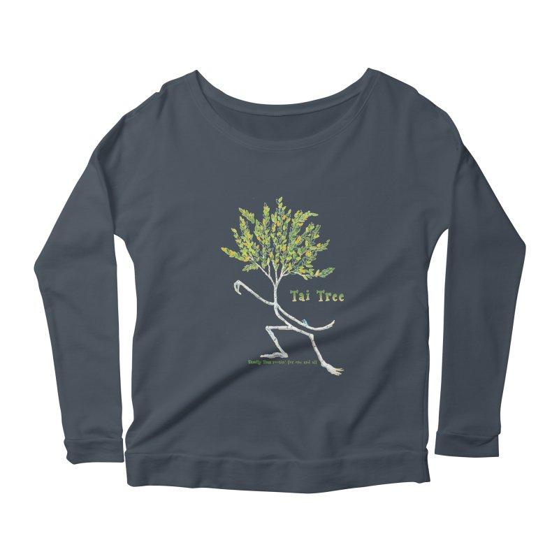 Tai Tree Women's Scoop Neck Longsleeve T-Shirt by Family Tree Artist Shop