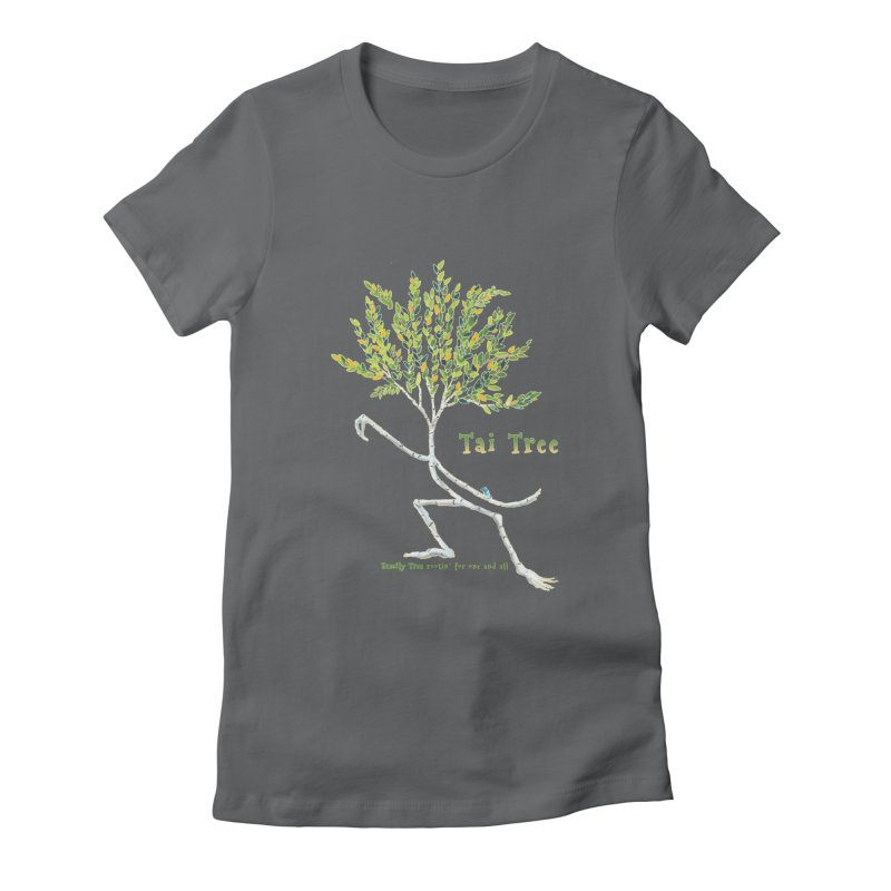 Tai Tree Women's Fitted T-Shirt by Family Tree Artist Shop