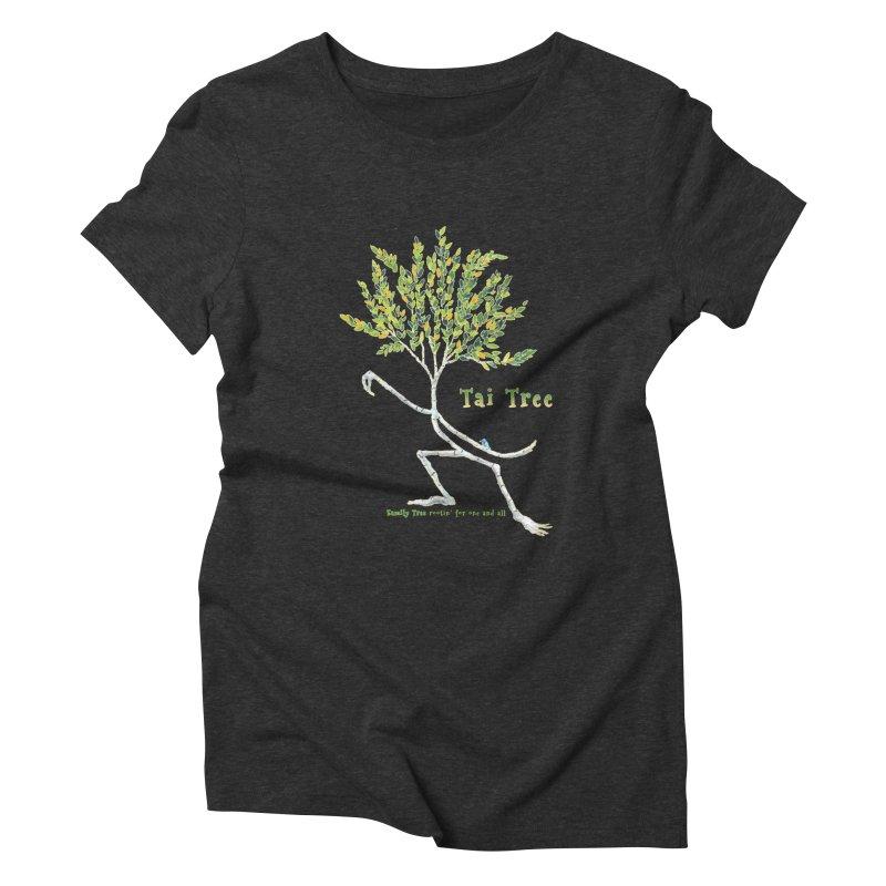 Tai Tree Women's Triblend T-Shirt by Family Tree Artist Shop